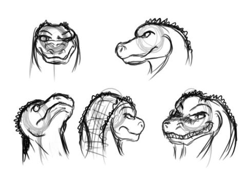 Croc-oh-practicings by EmotionCreator