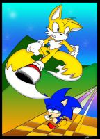 sonic a tails by lv-a42