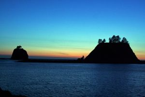 La Push Sunset by indigohippie