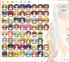 GS MSN Icons by MapleRose