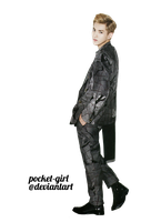 EXO-M Kris L' Officiel Hommes August 2013 Render by pocket-girl