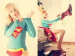 Supergirl - Just a new day - New 52 - DC Comics by WhiteLemon