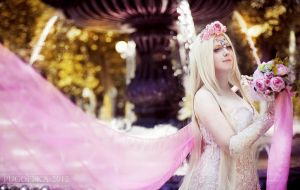Wedding Elf from Lineage II by Ptishon