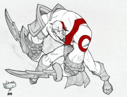 Kratos by AdamMasterman