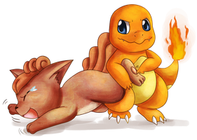 Charmander's Tickle Revenge by Deruuyo
