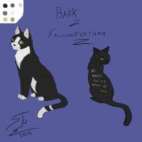Cat OC - Bark / Falconfeather by SnakeTeeth12