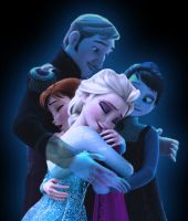 Frozen- We are One by HKY91