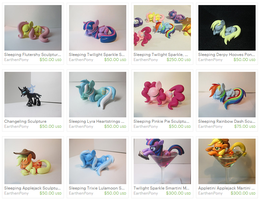 Etsy Shop updated with Pre-Order items! by EarthenPony