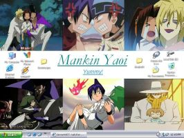 Mankin Yaoi Desktop by taitofan