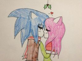 sonamy mistletoe human version by divineinyashakagome