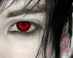 Uchiha, Sharingan by NightRoad66