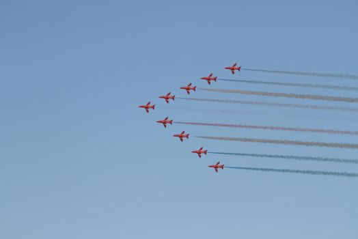 Red Arrows 2016 by SuicideNeil