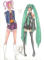Fashion and Cosplay Friends by Razzl3erry