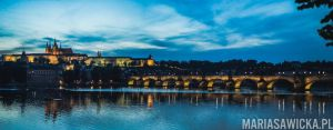 Charles Bridge scape by Voigtlander