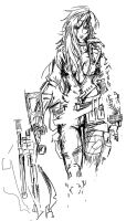 Sniper Wolf a7 by Agacross