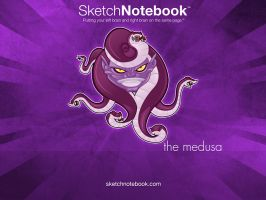 SKNB Desktop Medusa by WarBrown