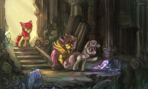 CMC and the Temple of Chaos by bloodrizer