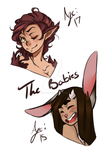 Olena And Theo the babies by theangeloflife25