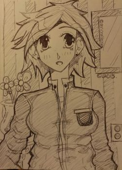 Pen Drawing Challenge by Ivy16