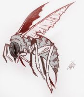 .:Mindless Hope:. Angry Hornet by CosmicVirus