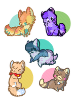 Chibi Requests: Batch FOUR by PrePAWSterous
