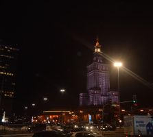 Night in Warsaw by Risandell