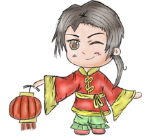 Hetalia: Chibi China by Tealeaf-Culture