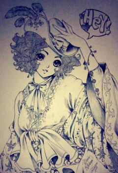 manga character by the1illustrator