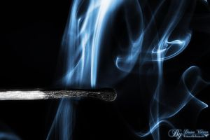 Smoking Match by LinsenSchuss