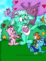 Care bears-Nature Walk by spongefox