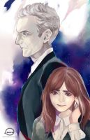 Doctor Who 12th Doctor and Clara by Animus-Rhythm