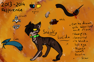Sneaky Lucida - 2013 2014 - Reference by zneakii