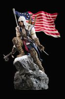 Assassin's Creed III Connor Statue by OrochimaruXDD