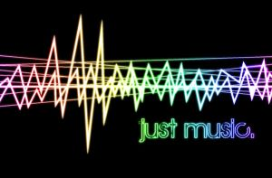 just music. -wallpaper- by zoeil