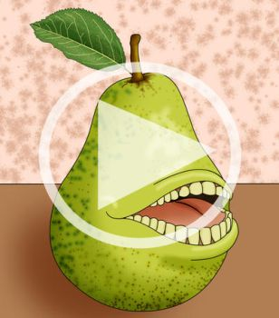 The Biting Pear of Salamanca by Master-Geass