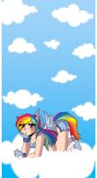 .:MLP Rainbow Dash:. by Dawnrie
