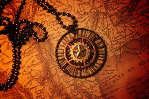 Texas Steampunks Necklace by turnerstokens