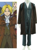 Fullmetal Alchemist Edward 2th Cotton Polyester Co by morseedwina