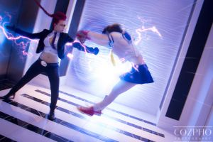 THUNDER KNUCKLE! by KOCosplay