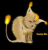 Fire Kitty by Tammy-Mm