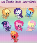 MLP KeyChains01 by Dare2DreamMedia