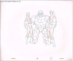 Marvel Cel Drawing 8 by AnimationValley