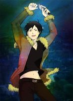 Izaya: Dancing with myself by strobolights