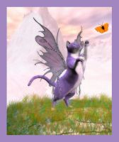 Fairy in Purple by Kaleya