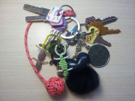 Decorated keys by riorval