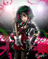 Punk in Pink by Cruzerchic123