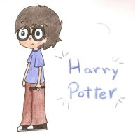 Harry Potter by just-my-drawings