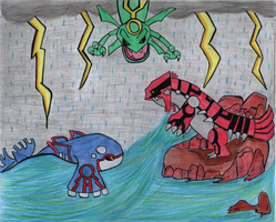 The Battle Of Hoenn by Megalomaniacaly