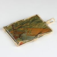 Cherry Creek Jasper Rectangle by innerdiameter