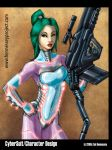 Cybersuit Girl by LazarusReturns
